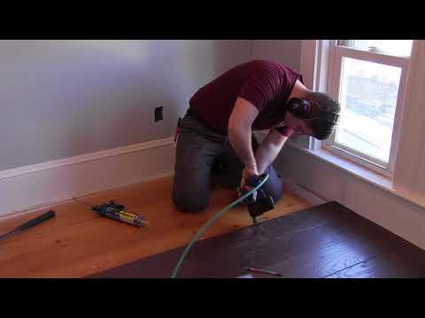 Installing A Shaw Epic PLUS Engineered Hardwood Floor