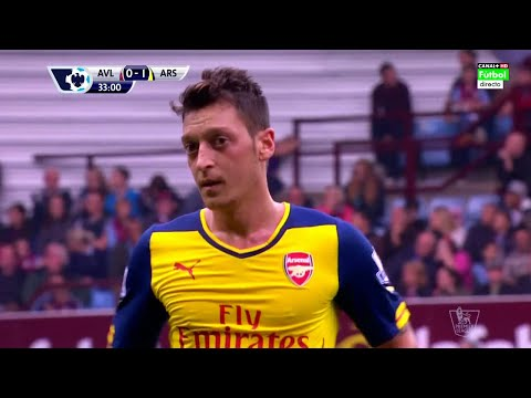 Mesut Özil vs Aston Villa (Away) 14-15 HD 720p By iMesut11Ozil