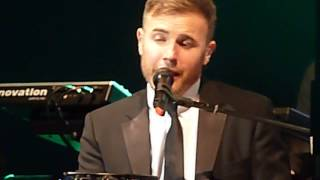 "Gary Barlow Solo Tour - ""SING"" - Bournemouth BIC - 13/11/12  *Opening Night of Tour*"