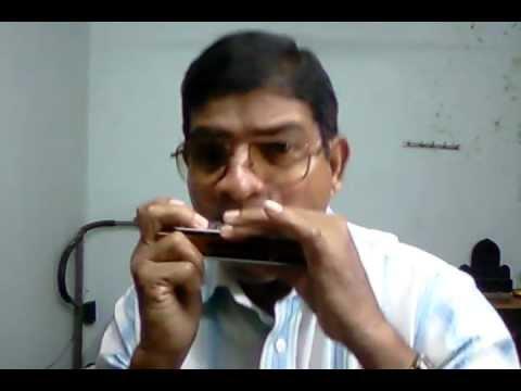Wo dekho jala ghar kisika - on harmonica by Suhas Naik