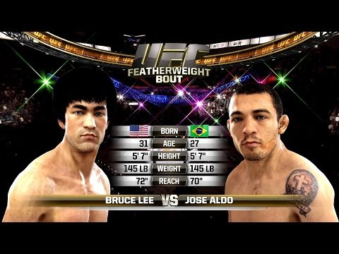 EA Sports UFC - Bruce Lee VS Jose Aldo Featherweight Championship Image 1