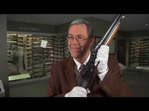 Combination guns.  A rifle and shotgun. rolled into one.  National Firearms Museum Curators Corner