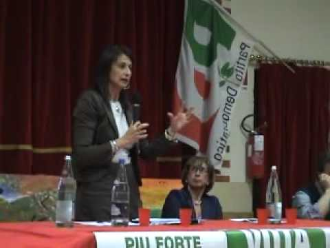 Milena D'imperio -candidata PD elezioni europee 2009 parte 1 Video