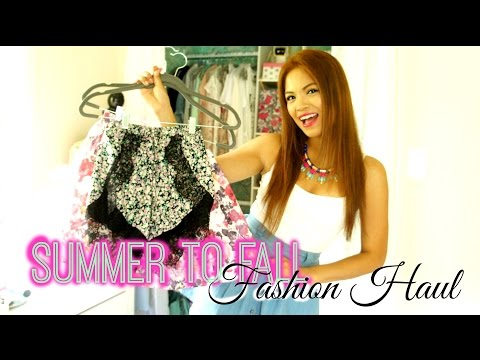 Summer To Fall Fashion Haul