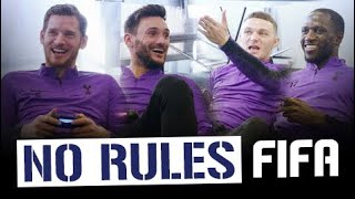 NO RULES FIFA 19! |  HUGO LLORIS & JAN VERTONGHEN V MOUSSA SISSOKO & KIERAN TRIPPIER