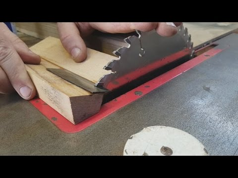 Table saw blade sharpen