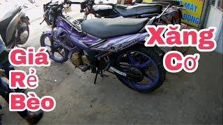 Giá Raider Xăng Cơ giá rẻ bèo(price of old suzuki satria motorcycles)Giá Exciter 135 cũ