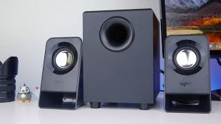 BEST BUDGET SPEAKERS? Logitech Z213 2.1 Speakers Review and Test