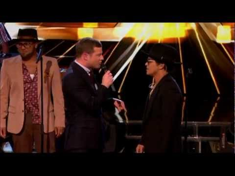 Bruno Mars - Locked Out Of Heaven (the X Factor Uk) video