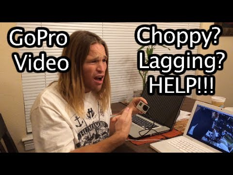 Why Is My Video Lagging / Choppy? GoPro Tip #296 | MicBergsma