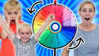 SPIN The MYSTERY WHEEL And DO EVERYTHING It Says!