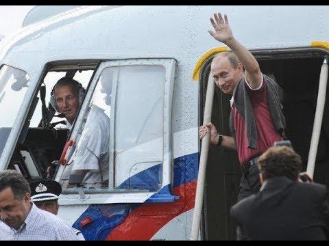Ужасные кировские дороги привели к прилету путина в Киров на вертолете