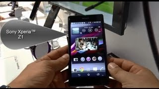 Sony Xperia™ Z1 Lansman İnceleme -  Sony Xperia™ Z1 Launch Review Hands on