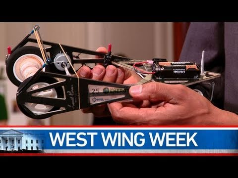 West Wing Week: 10/22/10 or The White House Science Fair