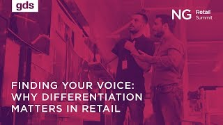 Finding your voice: Why differentiation matters in retail