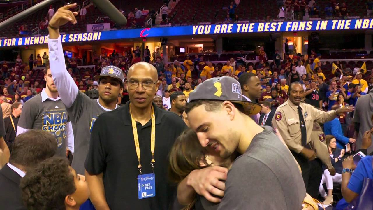 Father's Day: Klay and Mychal Thompson