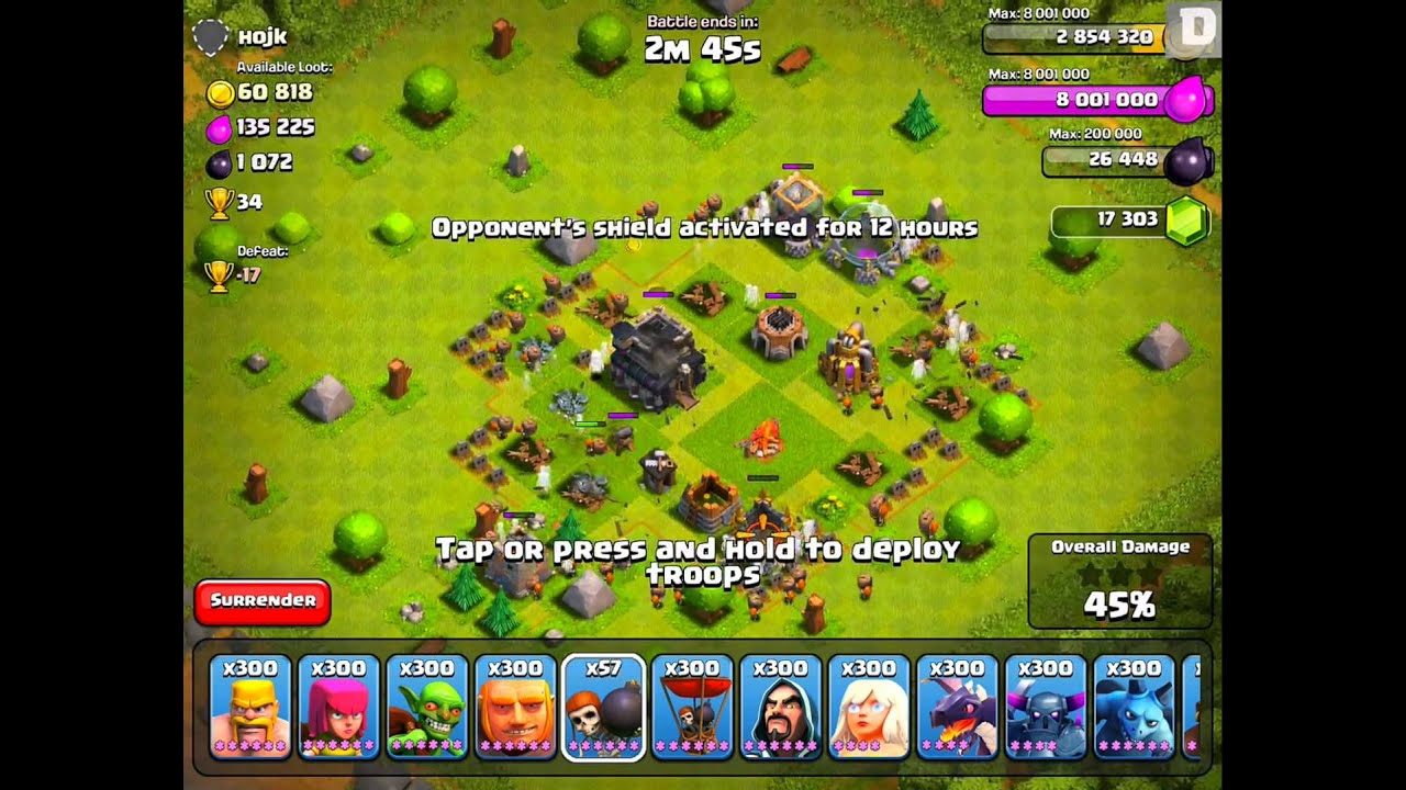 how to build walls in clash of clans