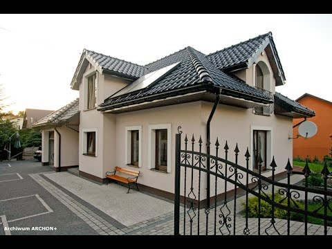 Projekt domu ARCHON+ Dom w chabrach - film z realizacji budowy