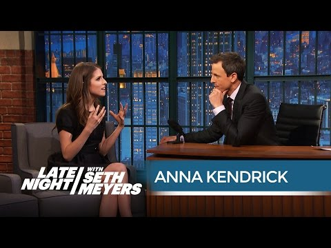 Anna Kendrick Loves Red Pandas - Late Night with Seth Meyers