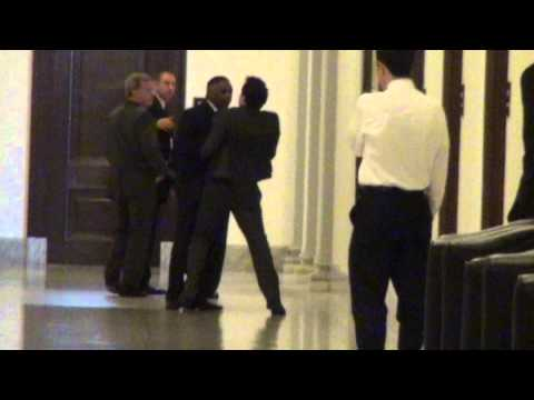Harry Reid's bodyguard attacks