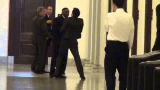 Harry Reid's Nigger Beast Attacks Jason Mattera
