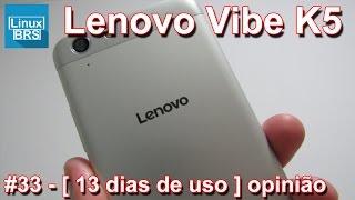 Lenovo Vibe K5 Brasil - 13 dias de uso (minha opinião) - Português