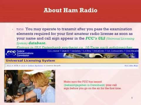 Amateurfunk Technician 01 About Ham Radio