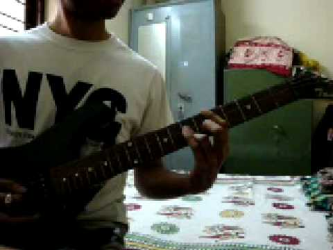 Adiye Kolluthey Guitar Riffs video