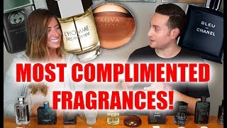 Top 10 Most Complimented Fragrances Judged by Amy!