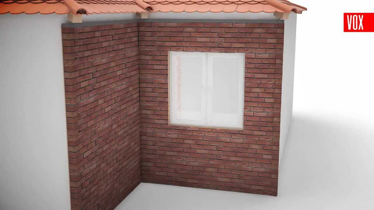 Instalaci n de fachada de pvc vinilo imitaci n ladrillo y for Laminas para forrar paredes