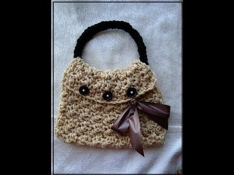 How To Crochet A Pebble Stitch Bag