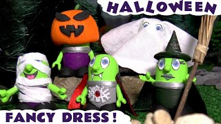 Halloween Spooky Fancy Dress Party with New Witch Funling Prank and the Funny Funlings