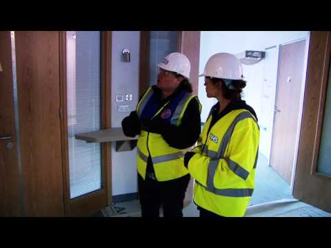 A tour of an inpatient area in the new hospital at Southmead