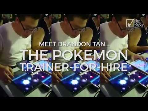 Meet Mr Brandon Tan, Pokemon trainer-for-hire