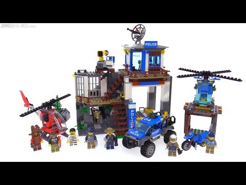 LEGO City Mountain Police Headquarters review 👮 60174