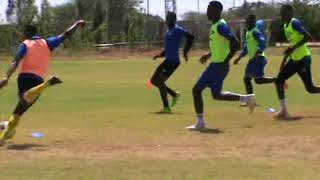 Township Rollers practice