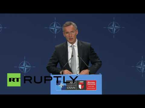 Poland: 'NATO stands firmly for Ukraine', Poroshenko and Stoltenberg hold press conference