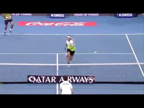 IPTL 2015 Day 6: Play of the Day (Men's Doubles set)