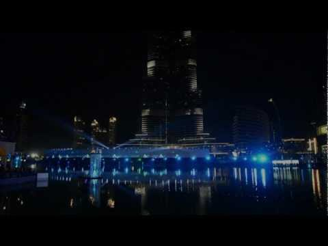 Water, Fire & Light Show - Downtown Dubai