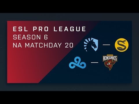 CS:GO: Liquid vs. Splyce | Cloud9 vs. Renegades - Day 20 - ESL Pro League Season 6 - NA Main