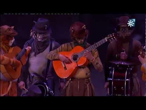 Comparsa - Los Gatos Callejeros | Actuación Completa en SEMIFINALES | Carnaval 2013