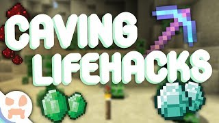 FIVE CAVING LIFEHACKS! | Never Get Lost, More Ores