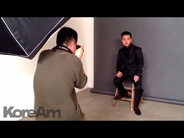 David Choi cover photoshoot for upcoming issue
