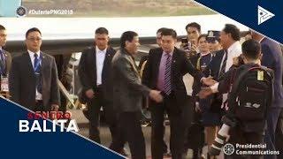 Pres. #Duterte, nasa Papua New Guinea na para sa APEC Summit 2018