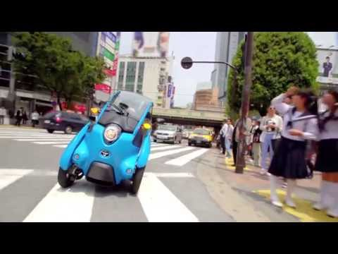 Toyota iRoad promo clip
