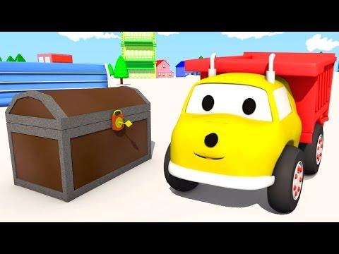 El Cofre del Tesoro ???? aprende formas con Ethan el Camión Volquete | Dibujos Animados niños