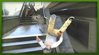 GTA 5: Funny Moments Compilation! Stunts, Fails & More! (GTA V Online Stunts)