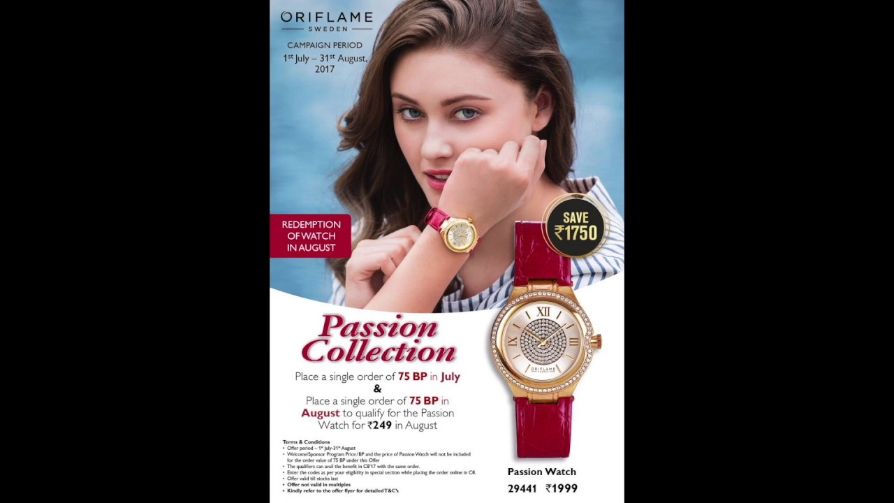 Oriflame July Offers 2017 | Recruitment & Activity Offer Oriflame ...