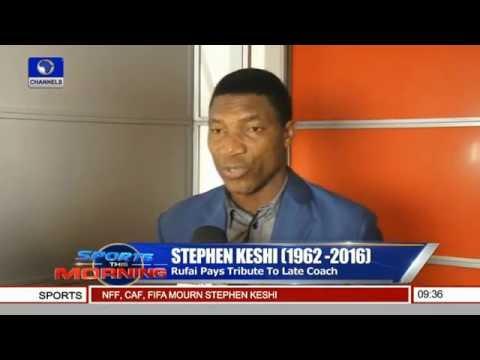 Stephen Keshi: Rufai Pays Tribute To Late Coach