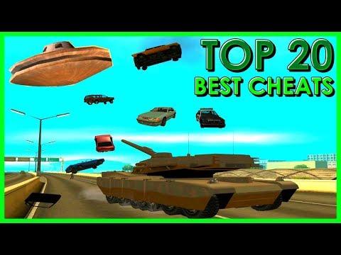 GTA San Andreas - Top 20 Cheats